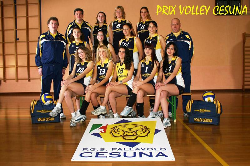 Under 17, Volley Cesuna